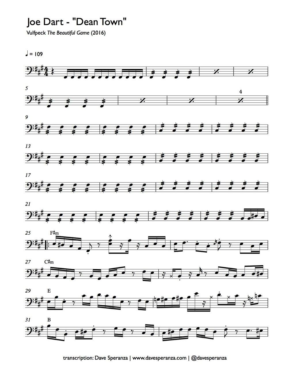 Joe Dart - Vulfpeck - Dean Town - Bass Transcription.jpg
