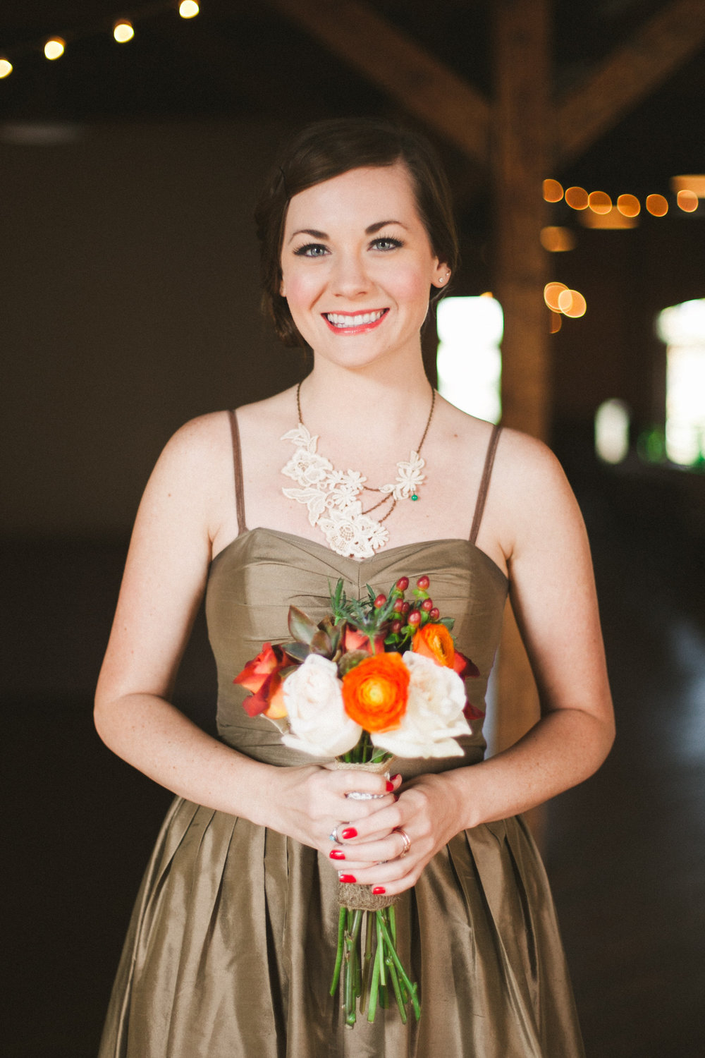 October Bridesmaid Bouquet
