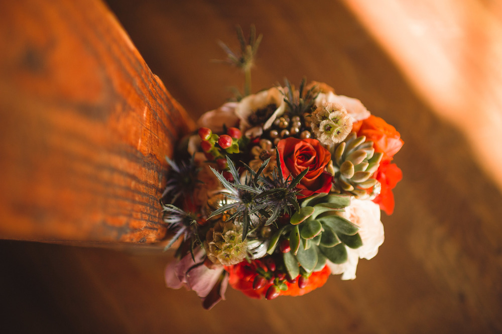 Autumnal Bridal Bouquet