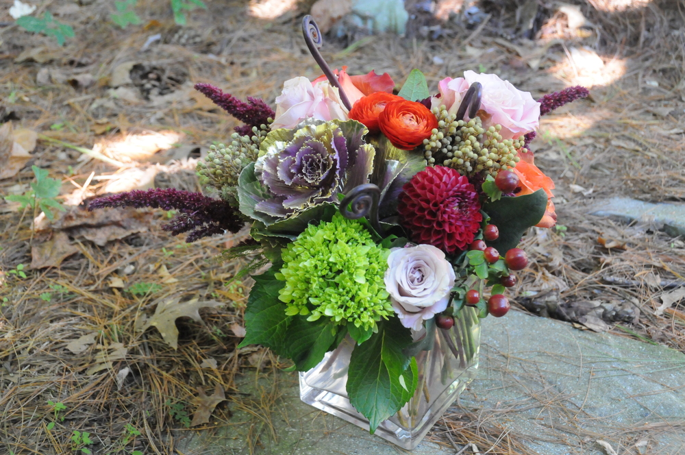 Autumn Wedding Centerpiece