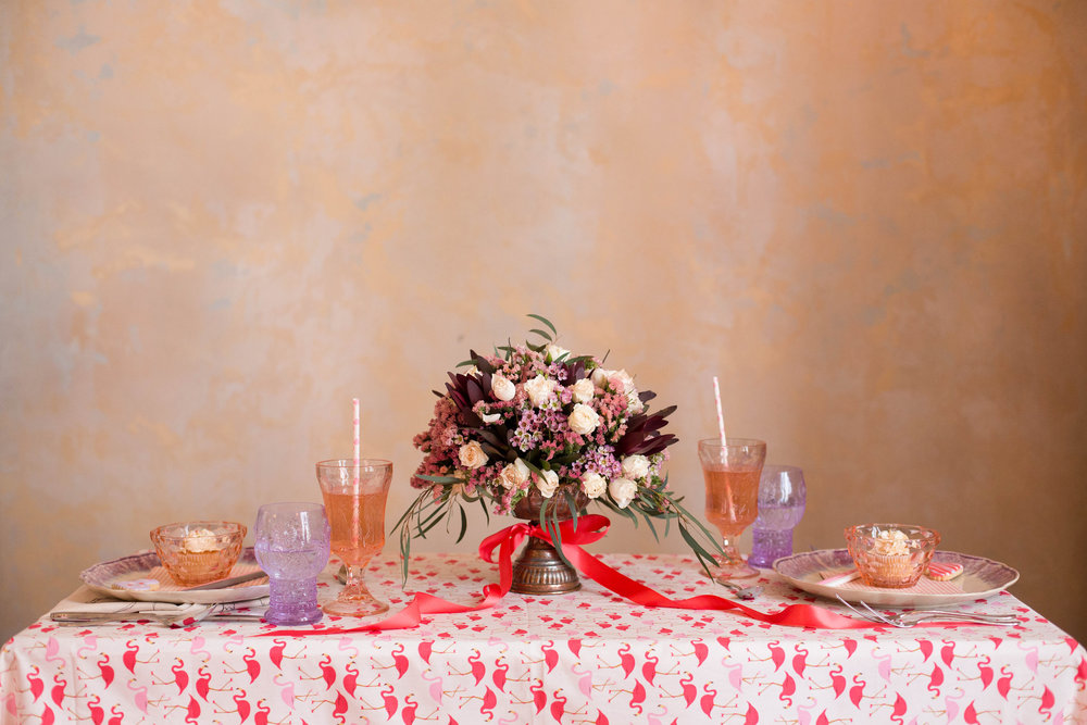 Parisian Valentine's Day Table