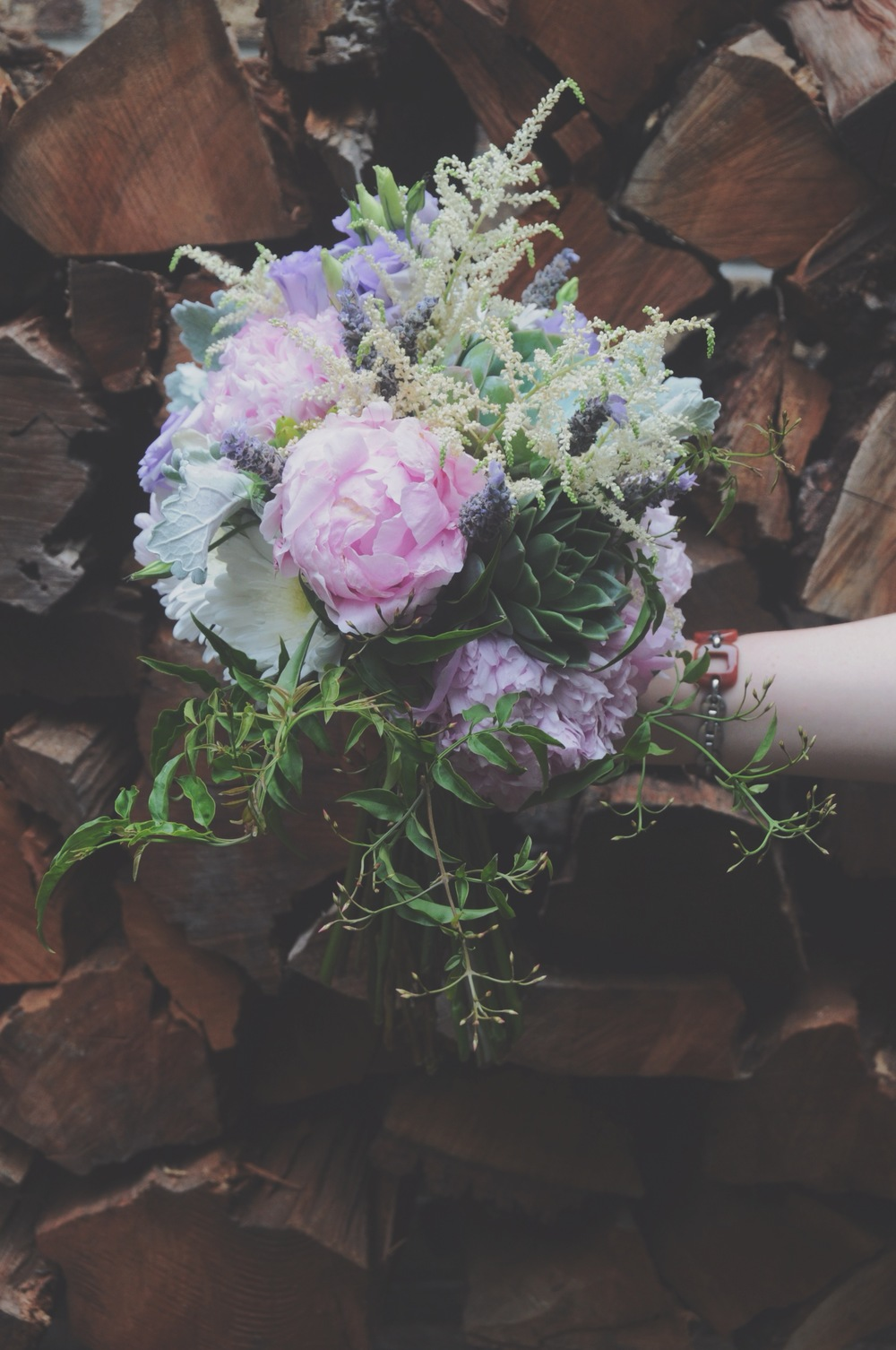 Spring Wedding Bridal Bouquet