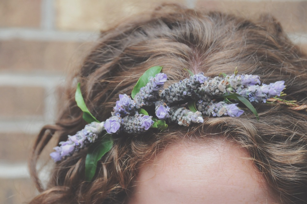 Lavender crown