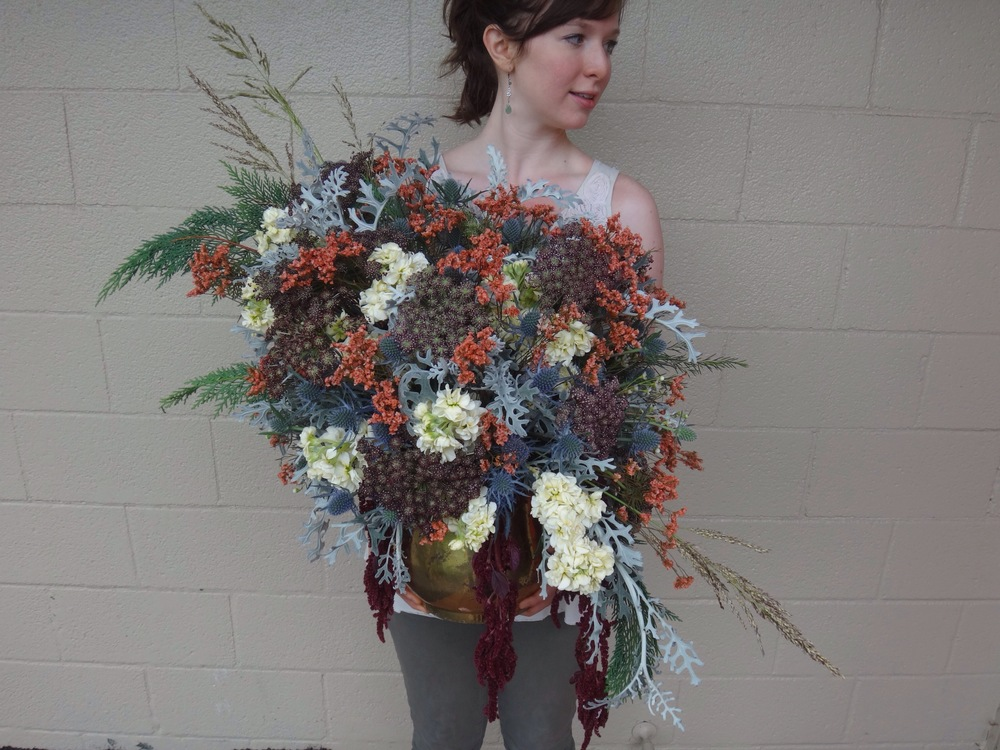 Bohemian Flower Arrangement