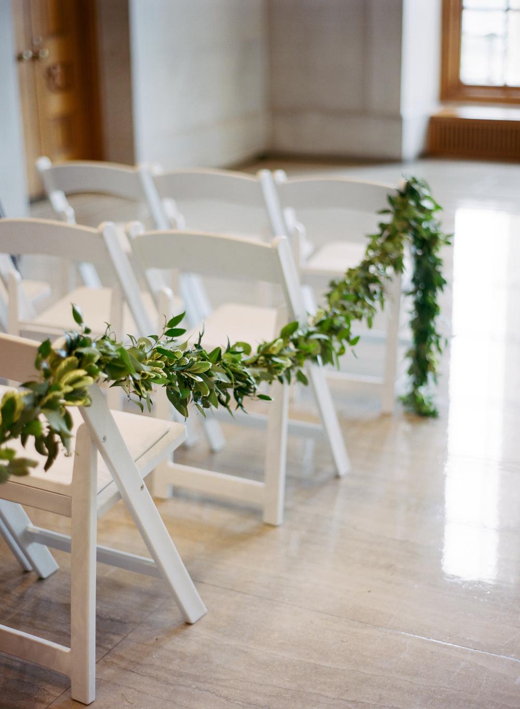 Nashville Wedding Floral Design // Garland