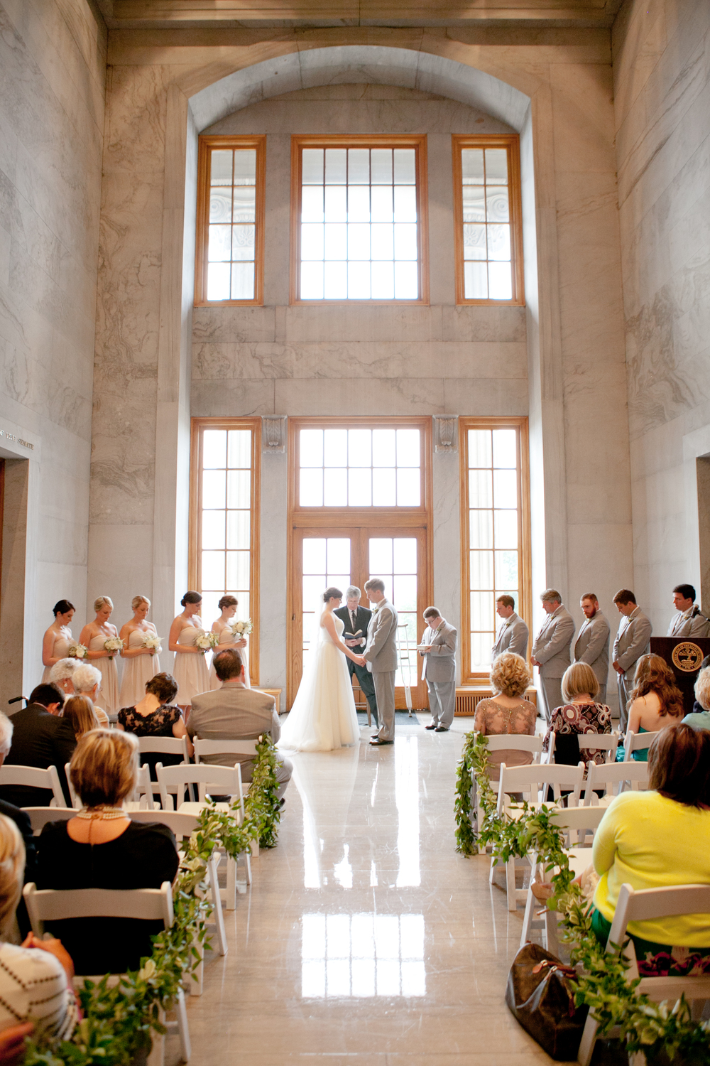 Tennessee State Capitol Wedding Ceremony