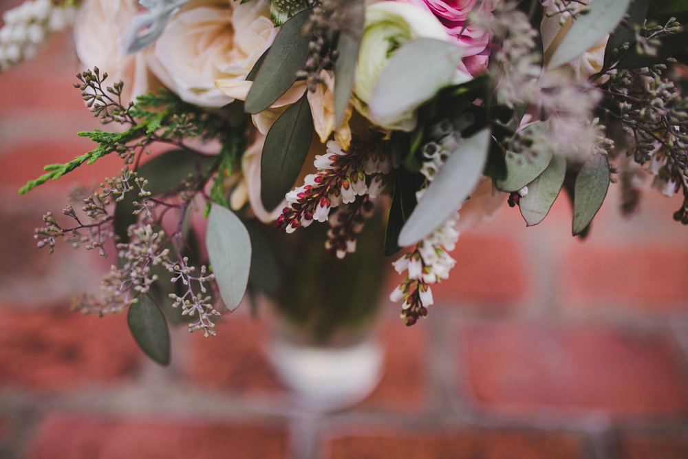Romantic Bridal Bouquet // Nashville, TN Floral Design