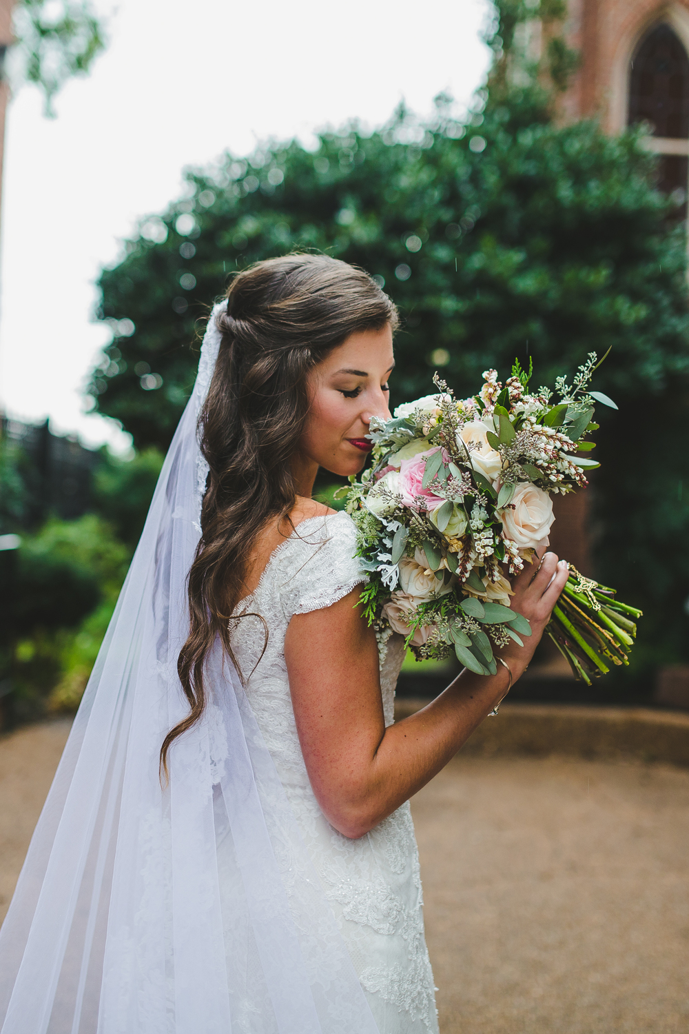 Whimsical Organic Bridal Bouquet