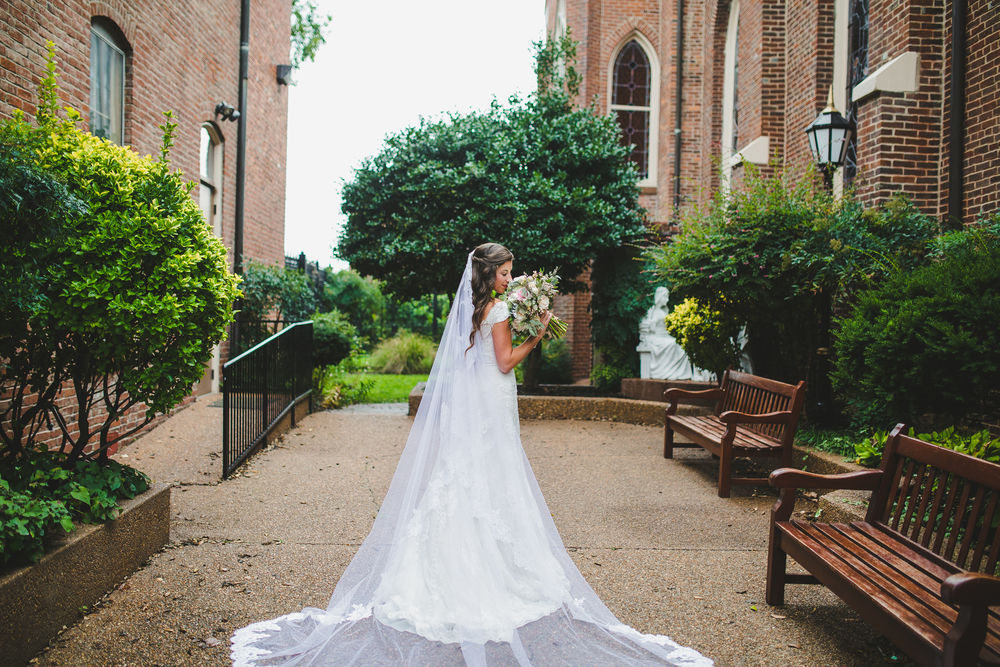 Nashville Wedding // Church of the Assumption