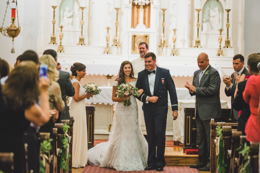 Nashville Wedding at the Church of the Assumption in Germantown