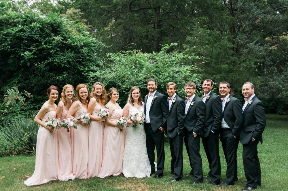 Travellers Rest Bridal Party