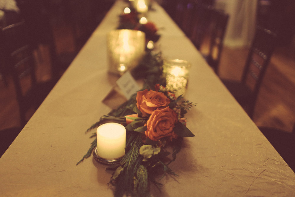 Head Table Garland // Cannery One // Nashville Wedding Flowers