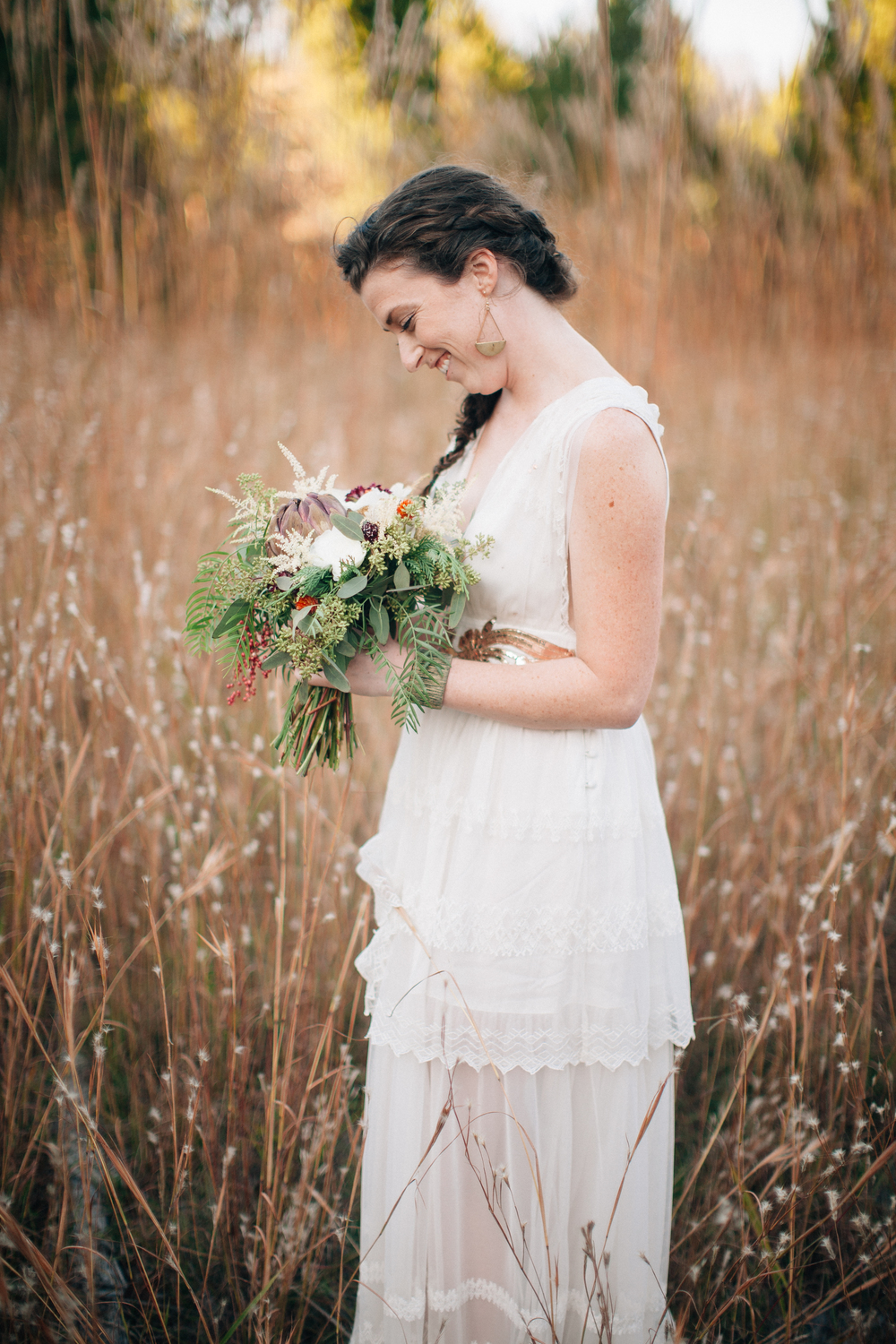 Nashville Elopement // Organic, Natural Floral Design