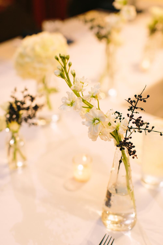 Simple Bud Vase // Nashville Wedding Floral Design
