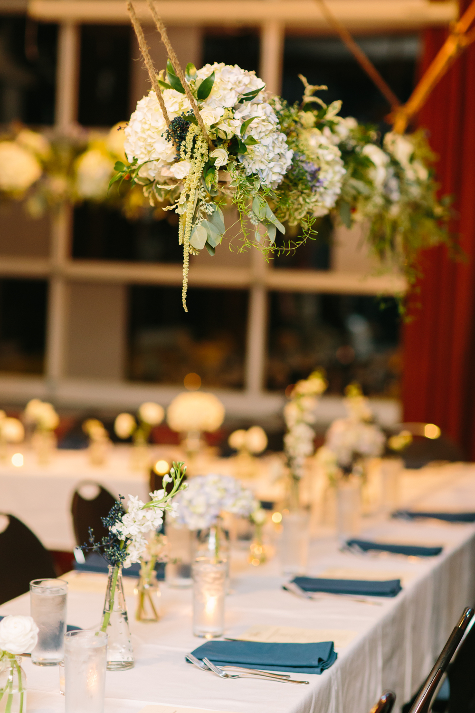 Hanging Flower Arrangement // Nashville Wedding Flowers