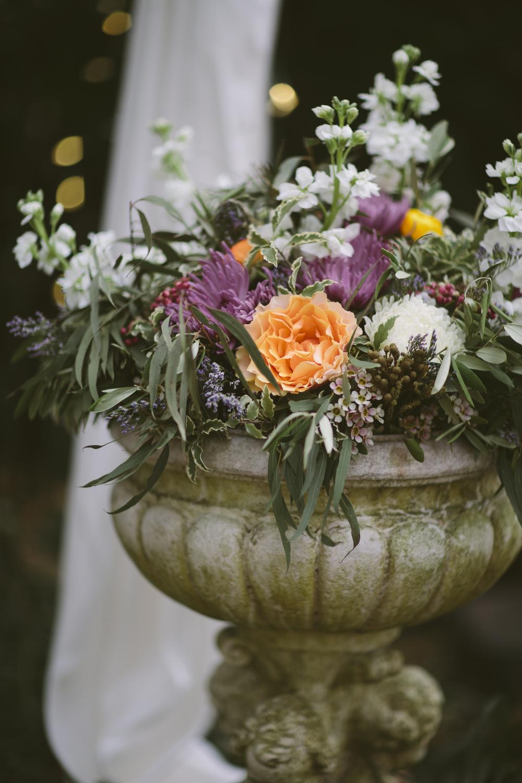 Large urn floral arrangement // Nashville Wedding Florist