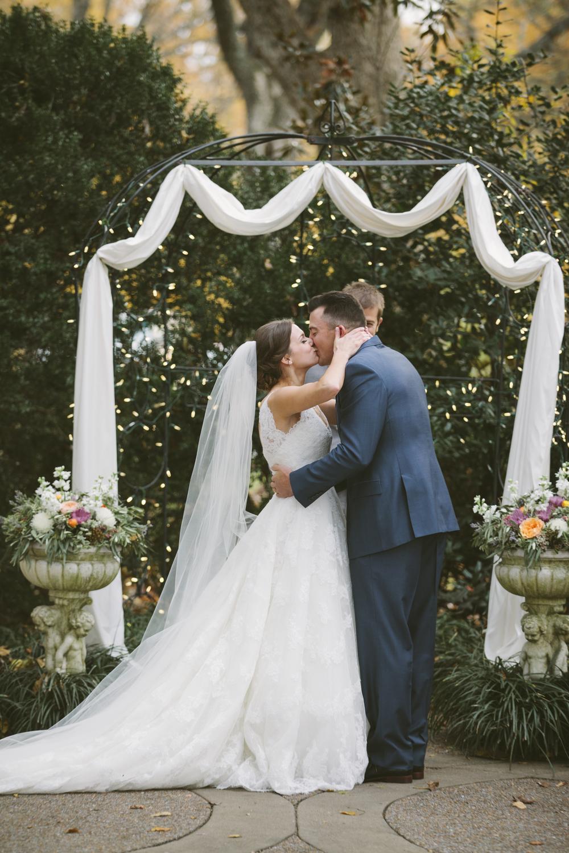 Fall Wedding Ceremony // Nashville Florist