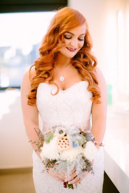 Winter Urban Nashville Wedding Flowers