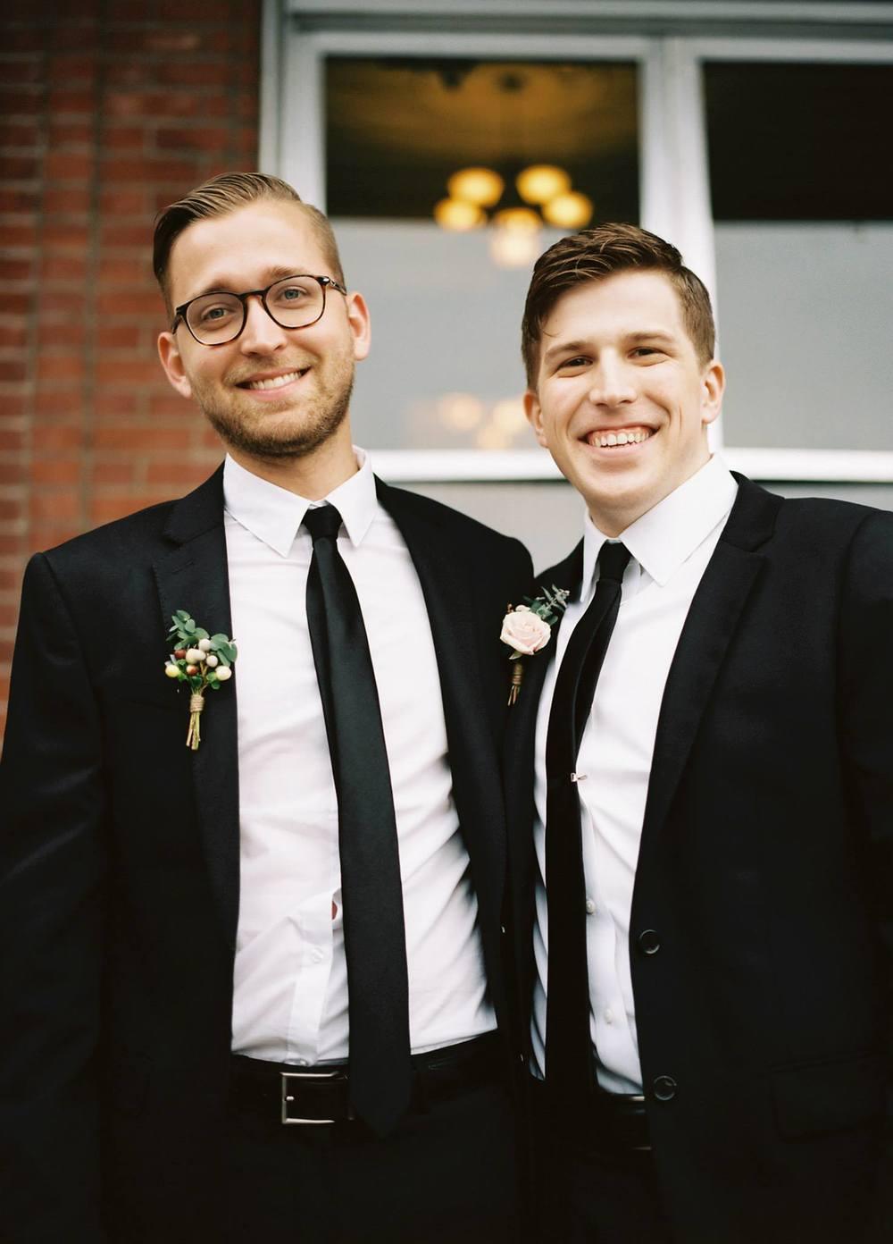 Nashville Wedding Floral Design // Groomsmen