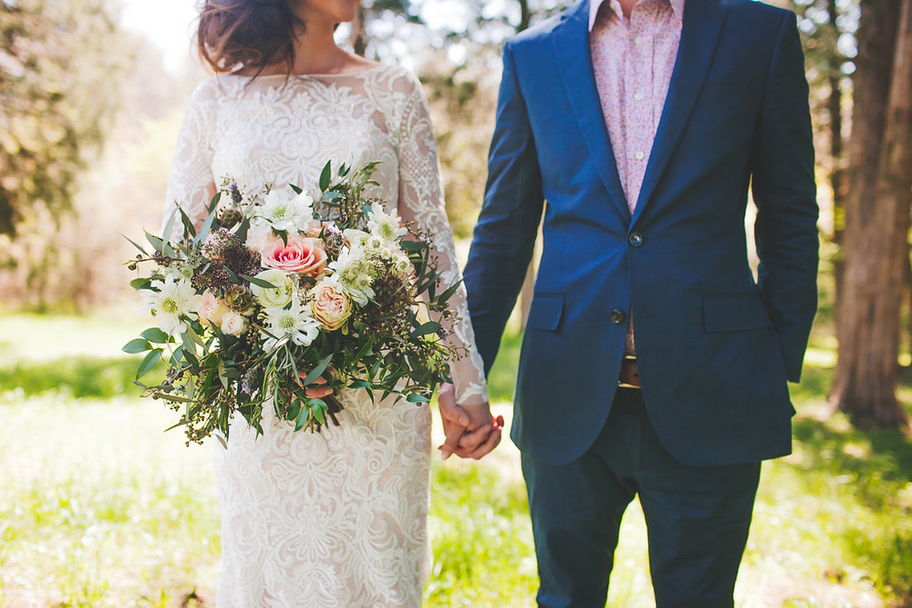 Nashville Wedding Florist // Brunch Wedding