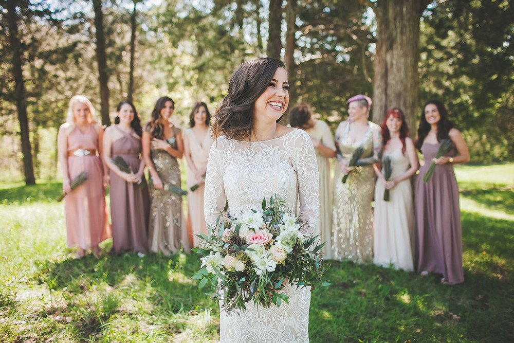 Bridal Party // Nashville Wedding Florist