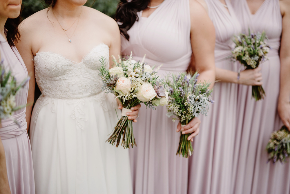 Herbal bouquets // Nashville Wedding Flowers