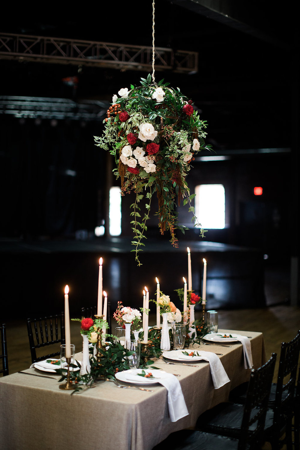 Rustic Italian Head Table Inspiration // Nashville Wedding Florist