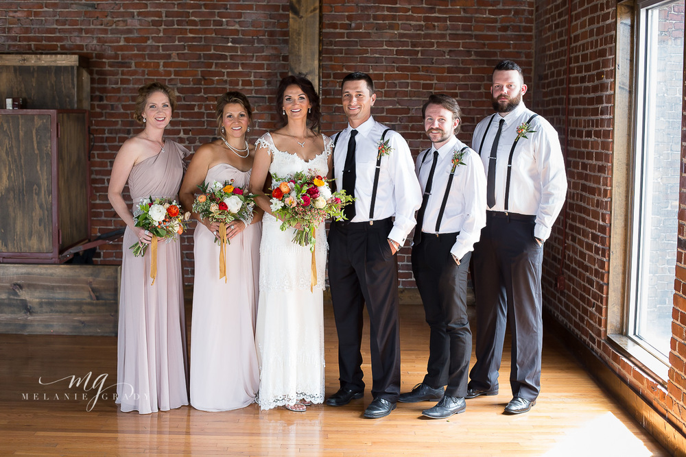 Italian Inspired Bridal Party // Nashville Wedding Florist