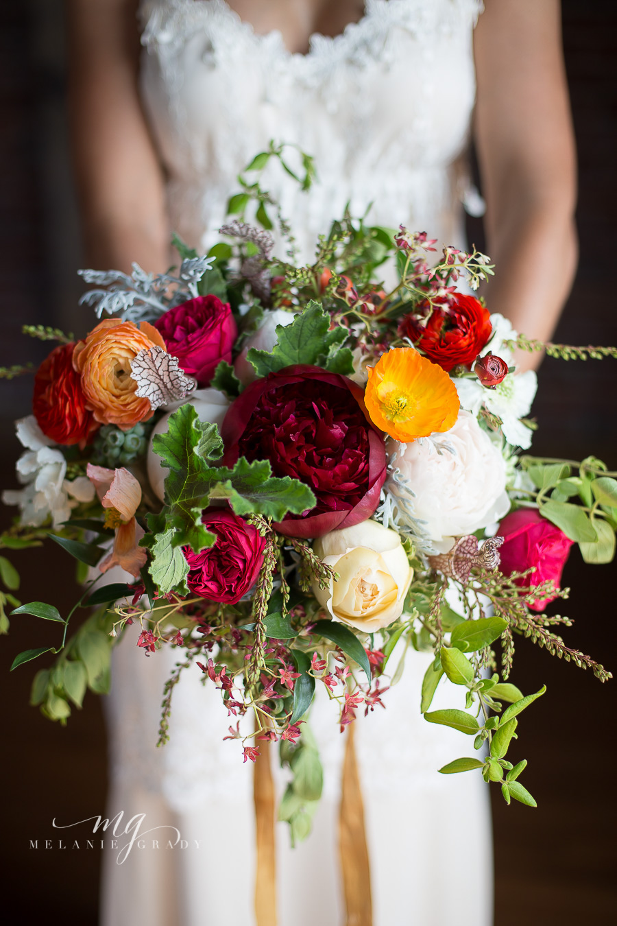 Italian inspired bridal bouquet // Nashville Wedding Florist