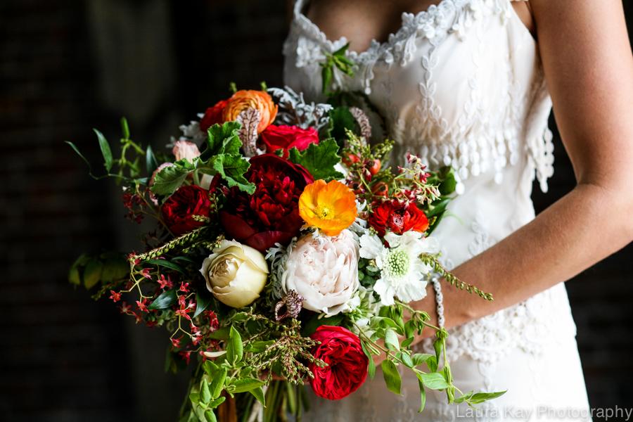 Peonies, garden roses, and ranunculus // Nashville Event Floral Design