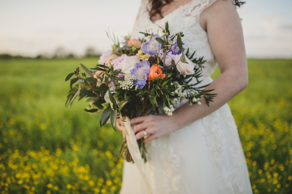 Summer Wedding Bridal Bouquet // Outdoor Nashville Wedding