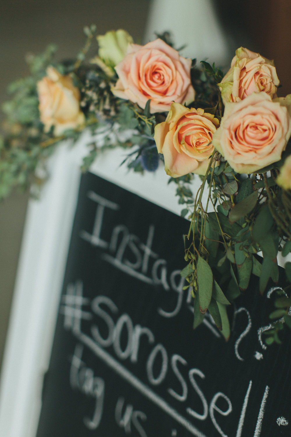 Hashtag sign // Nashville Wedding Flowers