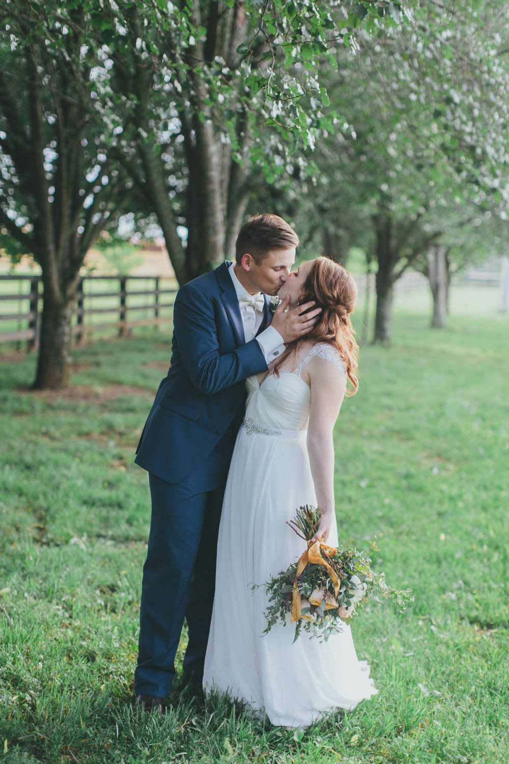 Bride and Groom / Nashville Wedding Florist