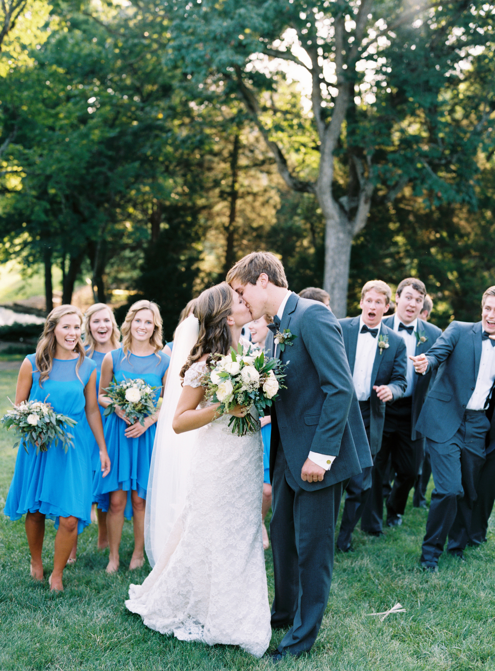Bridal Party at Cheekwood // Natural, organic floral design