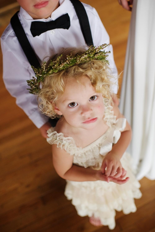 Flower Girl Crown // Nashville Wedding Floral Design