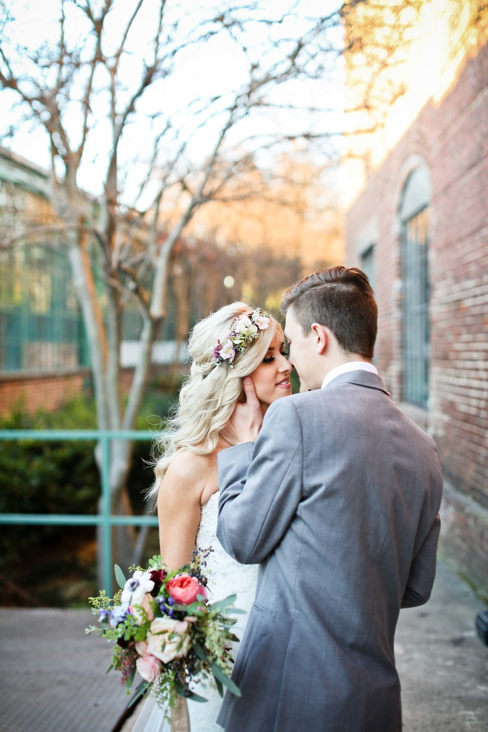 Romantic Elopement in Atlanta // Southeast Floral Design