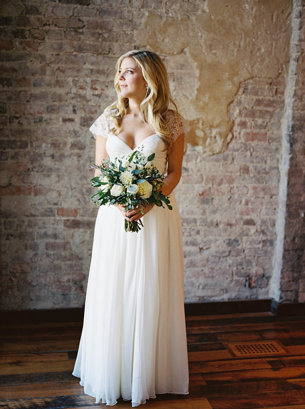 Bridal Portrait at the Cordelle // Nashville Wedding Florist
