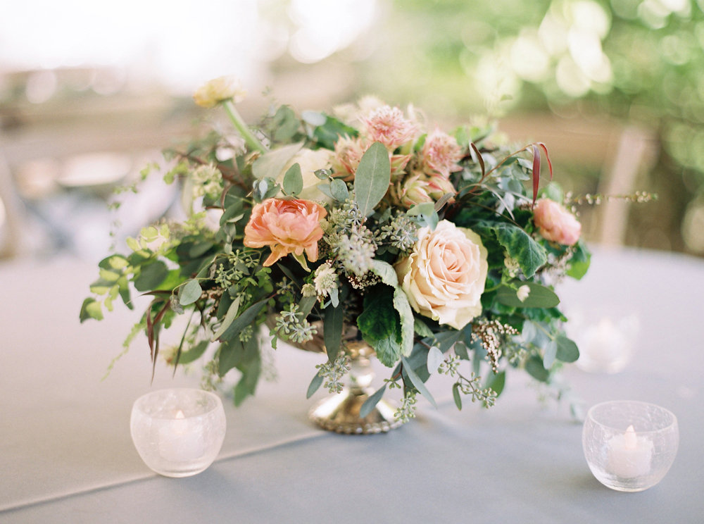 Loose, untamed centerpiece // Nashville Upscale Wedding Floral Design