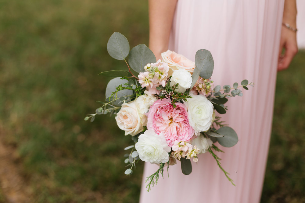 Keira Garden Rose // Organic Floral Design for Nashville Wedding