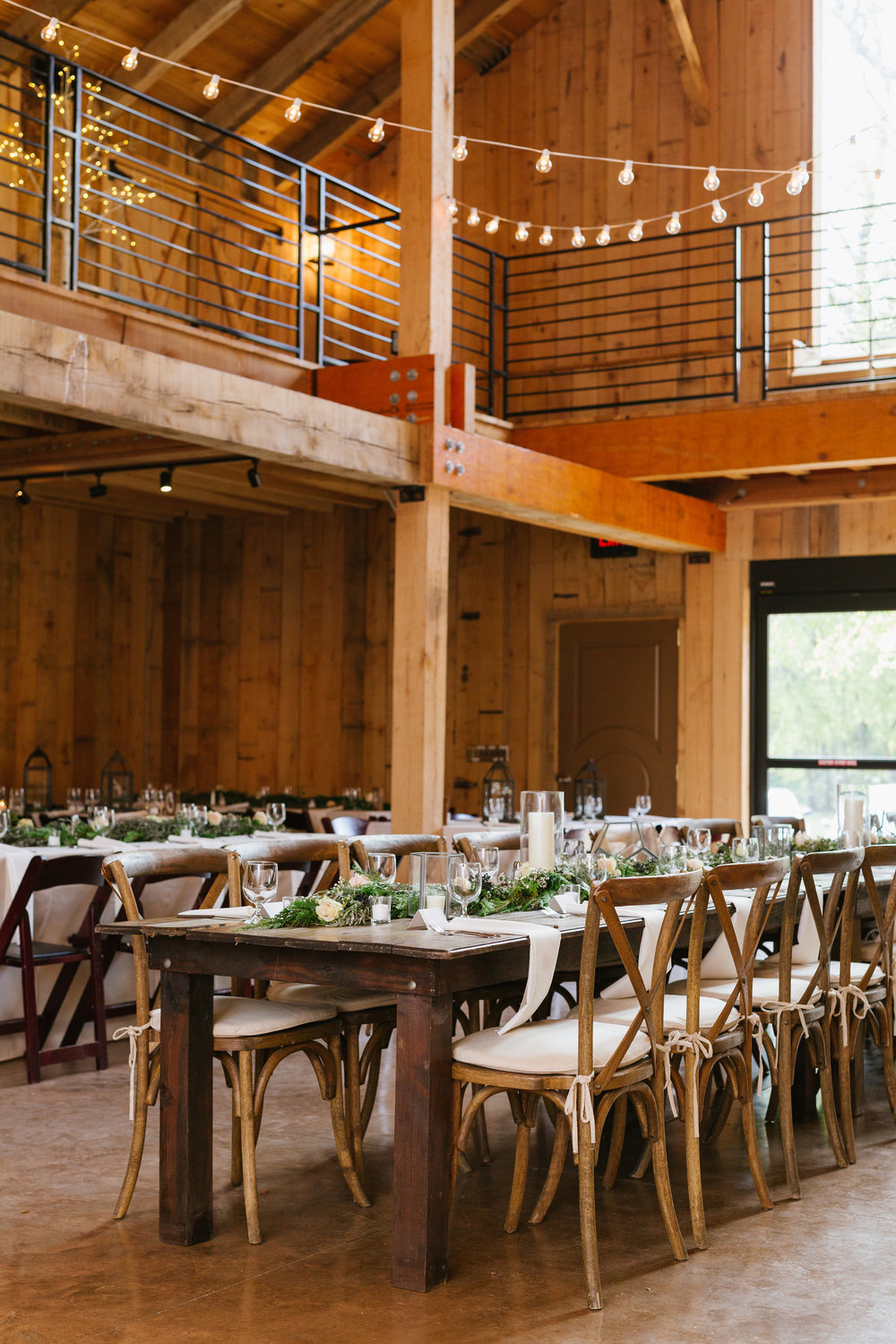 Green Door Gourmet Barn Wedding // Nashville Florist