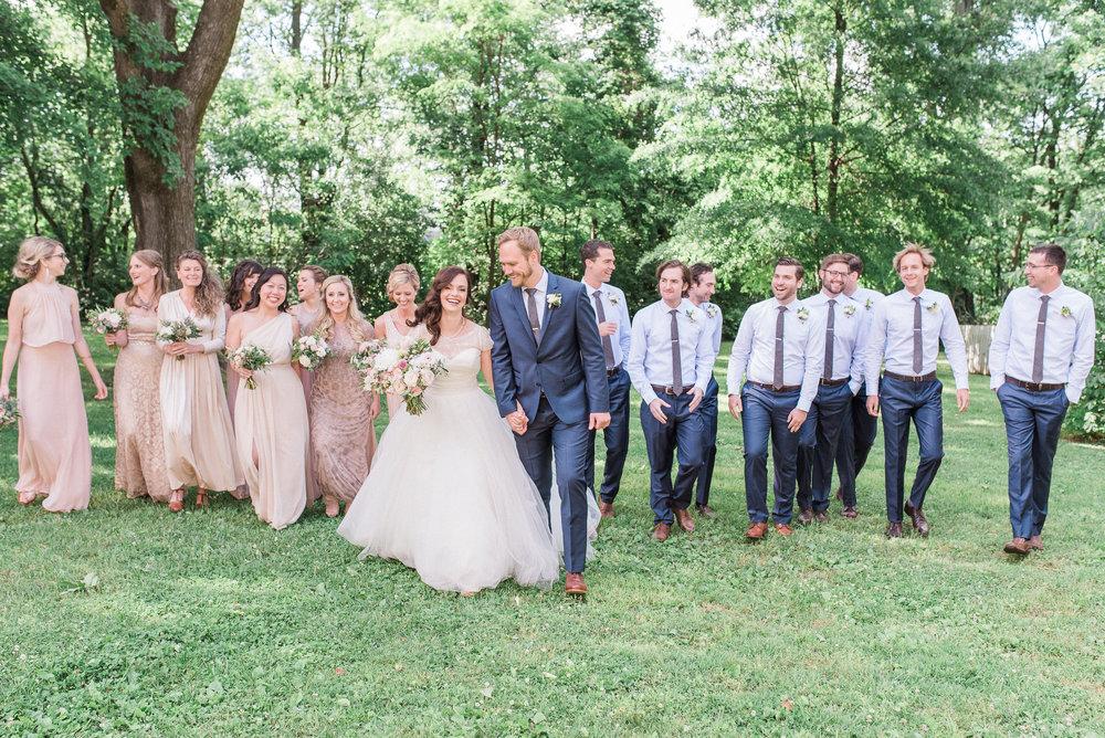 Garden Inspired Wedding at Nashville's Historic Travellers Rest // Nashville Florist