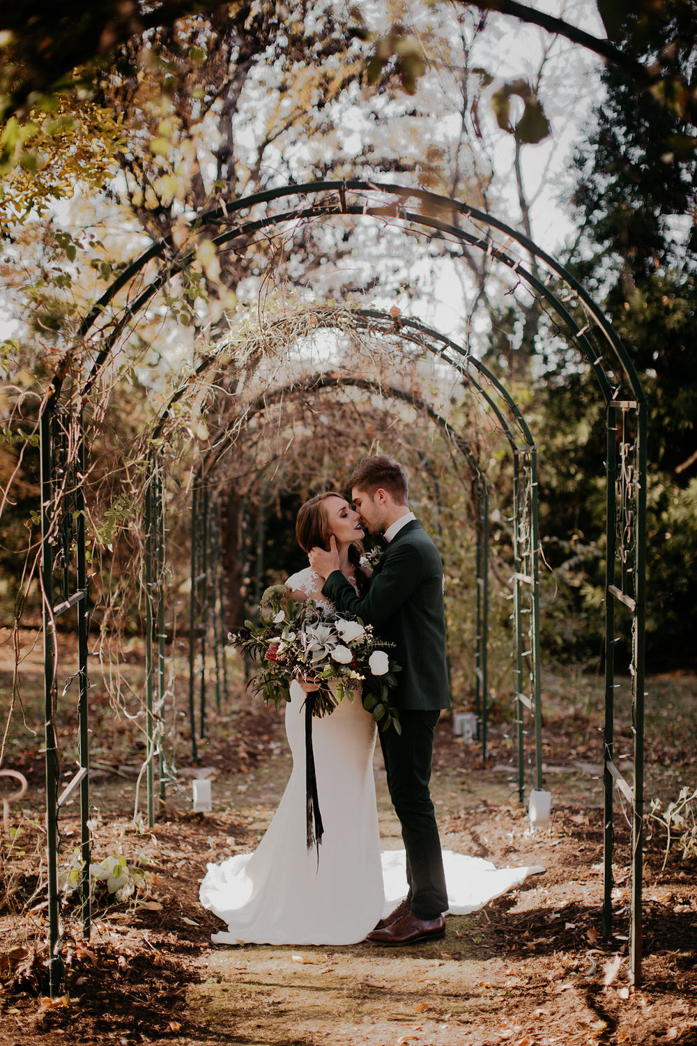 Riverwood Mansion Winter Wedding Inspiration // Nashville Floral Design