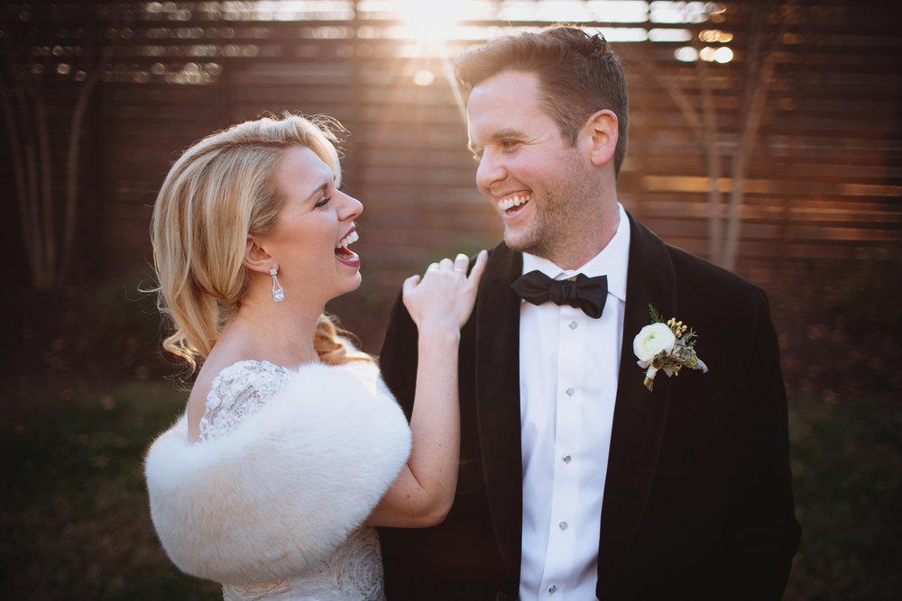 Elegant Christmas wedding // Nashville Florist