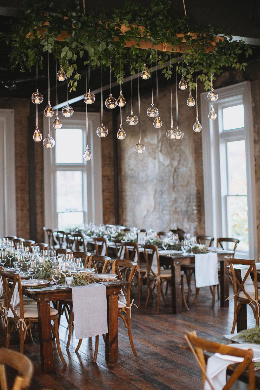 Hanging Candles // Nashville Wedding Florist