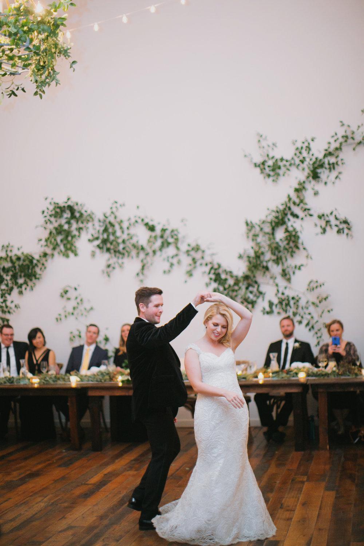 First Dance // Vine Installation // Nashville Wedding Florist