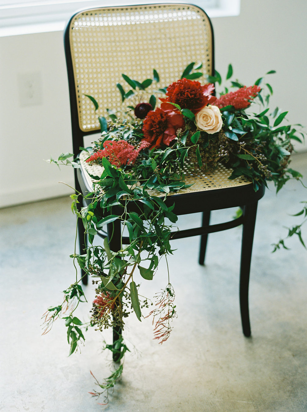 Lush Floral Design with Peonies and Ranunculus // Southeastern Wedding Florist
