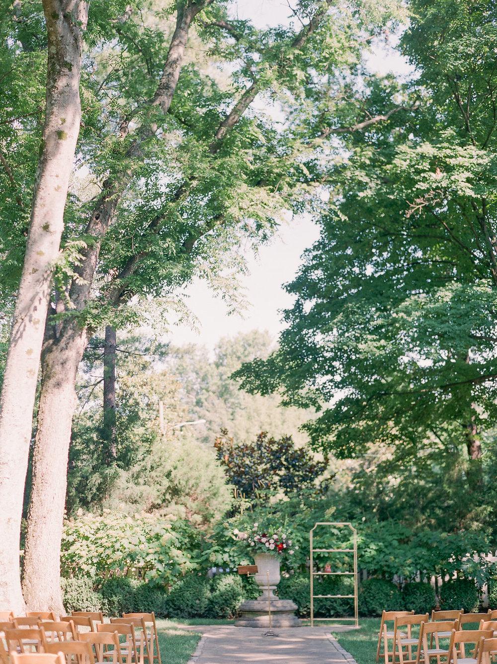 Belle Meade Plantation Garden Wedding // Nashville Floral Design