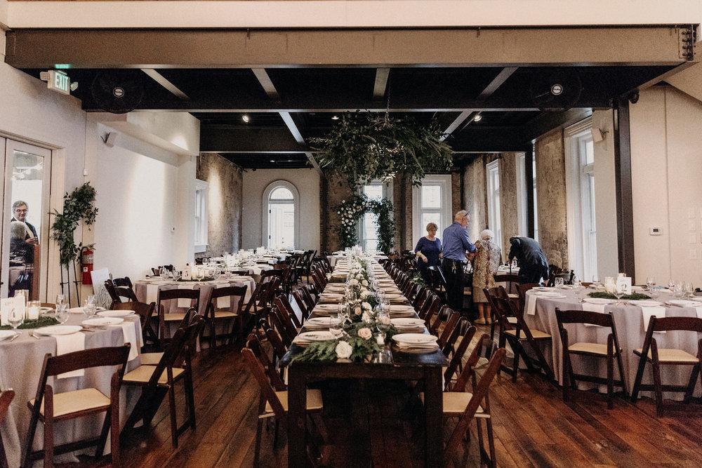 Wintry Wedding at the Cordelle // Nashville Floral Design