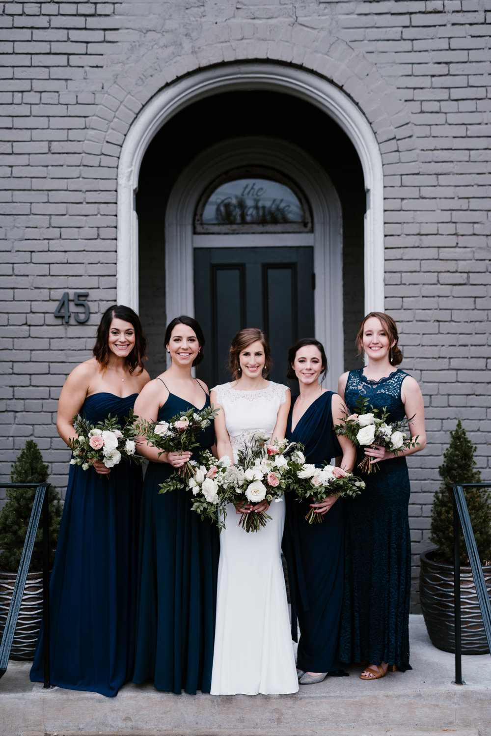 Late fall bridesmaids style // Nashville Wedding Floral Designer