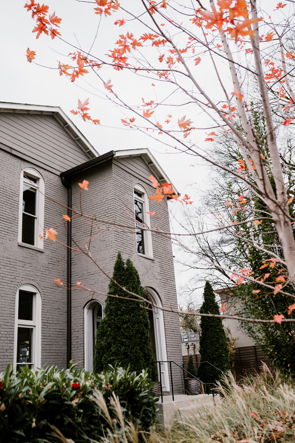 Late fall wedding at the Cordelle